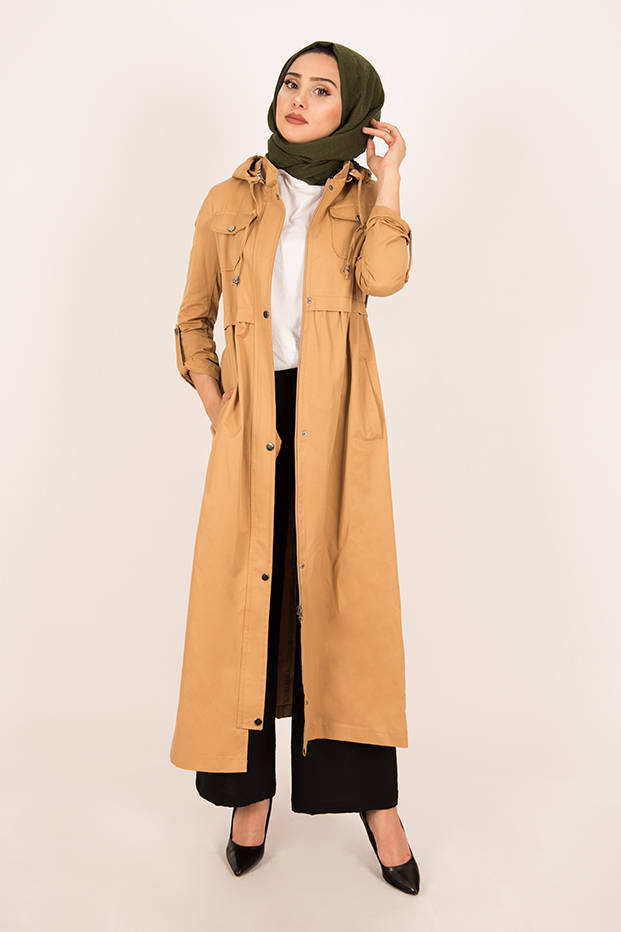Gibril & Gabrielle - Long Parka Coat