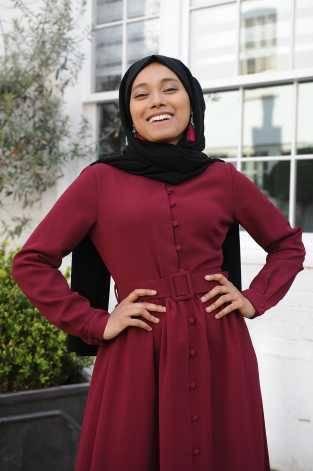 Louisa Dress Cherry