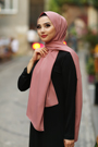 Gibril & Gabrielle - Madina Silk Hijab - French Rose