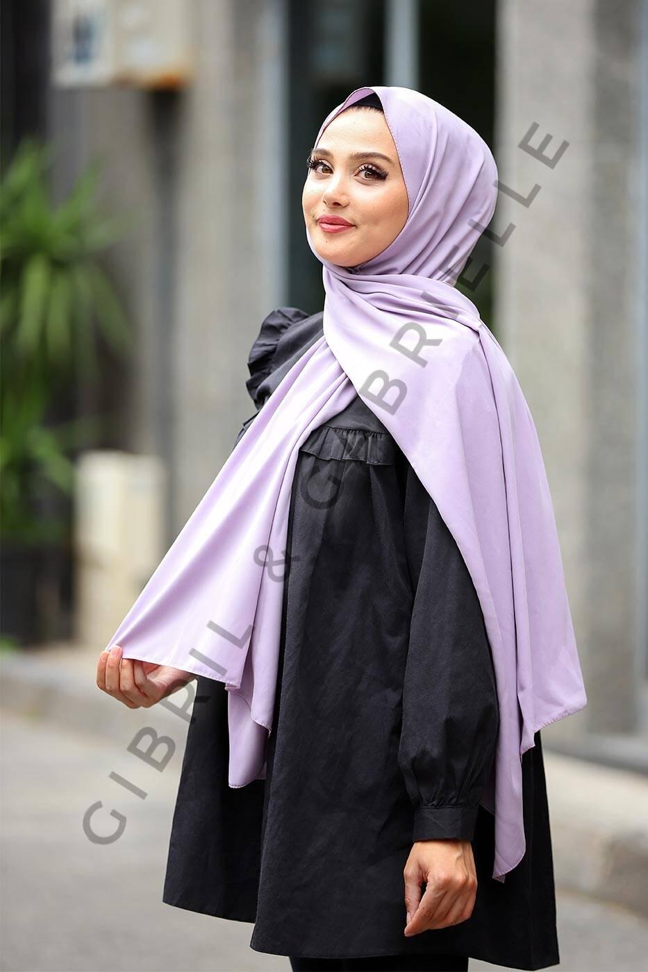 Gibril & Gabrielle - Madina Silk Hijab - Lavender