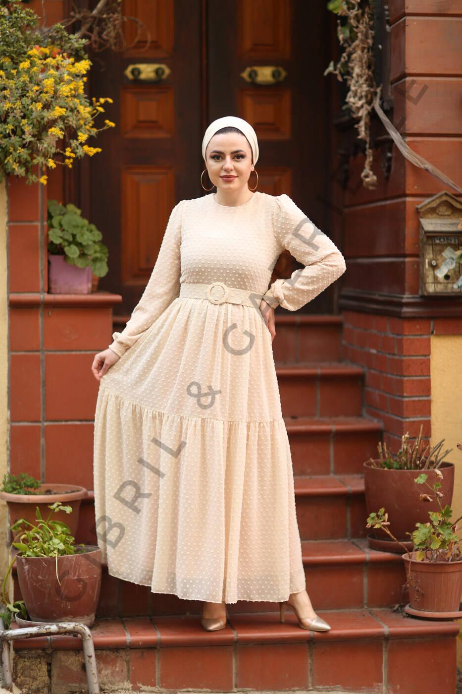 Gibril & Gabrielle - Melda Dress - Beige