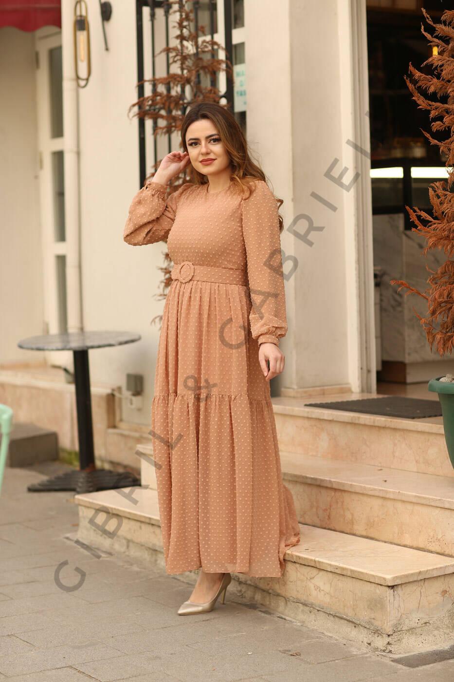 Gibril & Gabrielle - Melda Dress - Camel