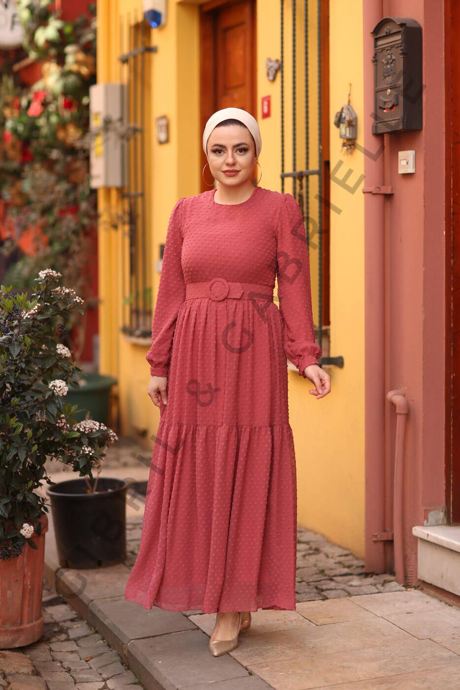 Gibril & Gabrielle - Melda Dress - Raspberry