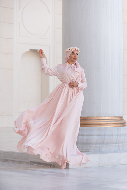 Gibril & Gabrielle - Mennel Dress Light Pink
