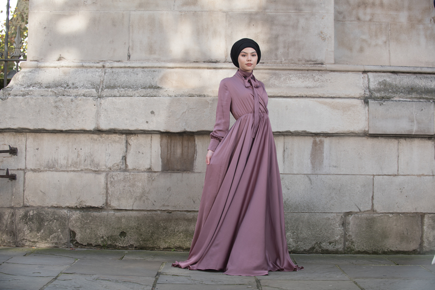 Mennel Dress - Old Pink
