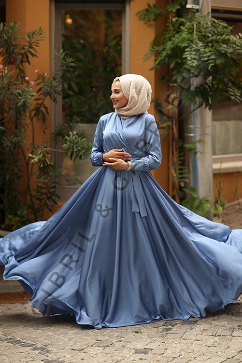Gibril & Gabrielle - Mennel Dress Sky Blue