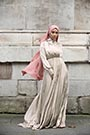 Mennel Dress - Stone Beige - Thumbnail