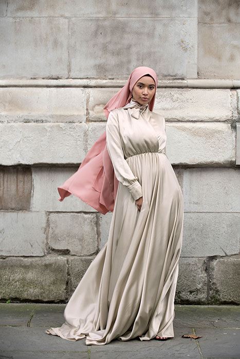 Gibril & Gabrielle - Mennel Dress - Stone Beige