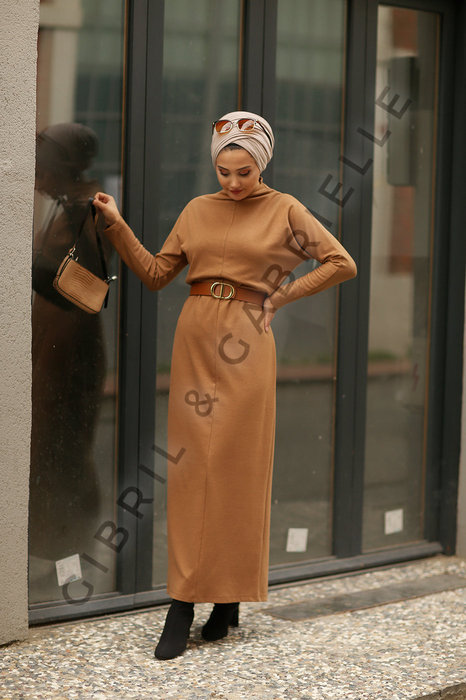 Gibril & Gabrielle - Mila Camel Dress