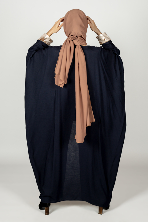Mille & Une Nuit Dark Blue Cape