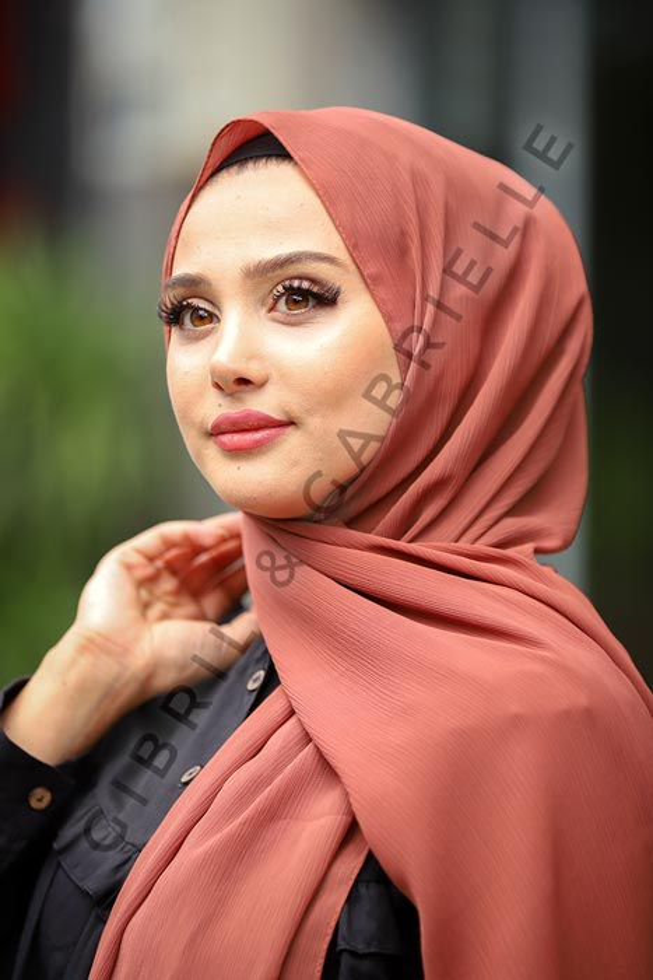 Krinkil Hijab - Moka