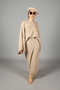 Nina Co-ord Set Beige - Thumbnail