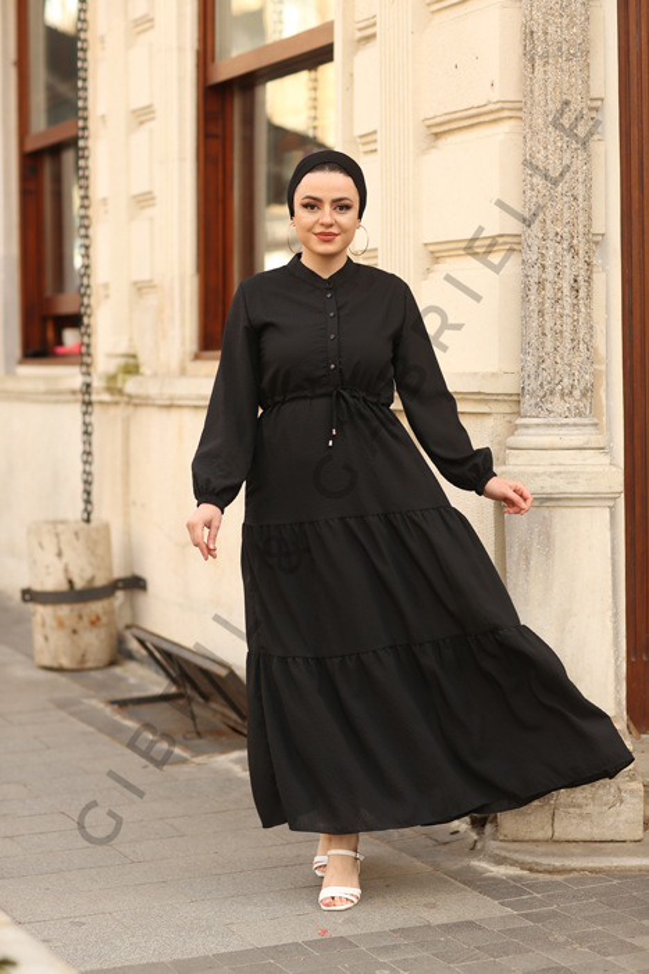 Gibril & Gabrielle - Oya Siyah Elbise