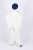 Palazzo Trousers - White - Thumbnail