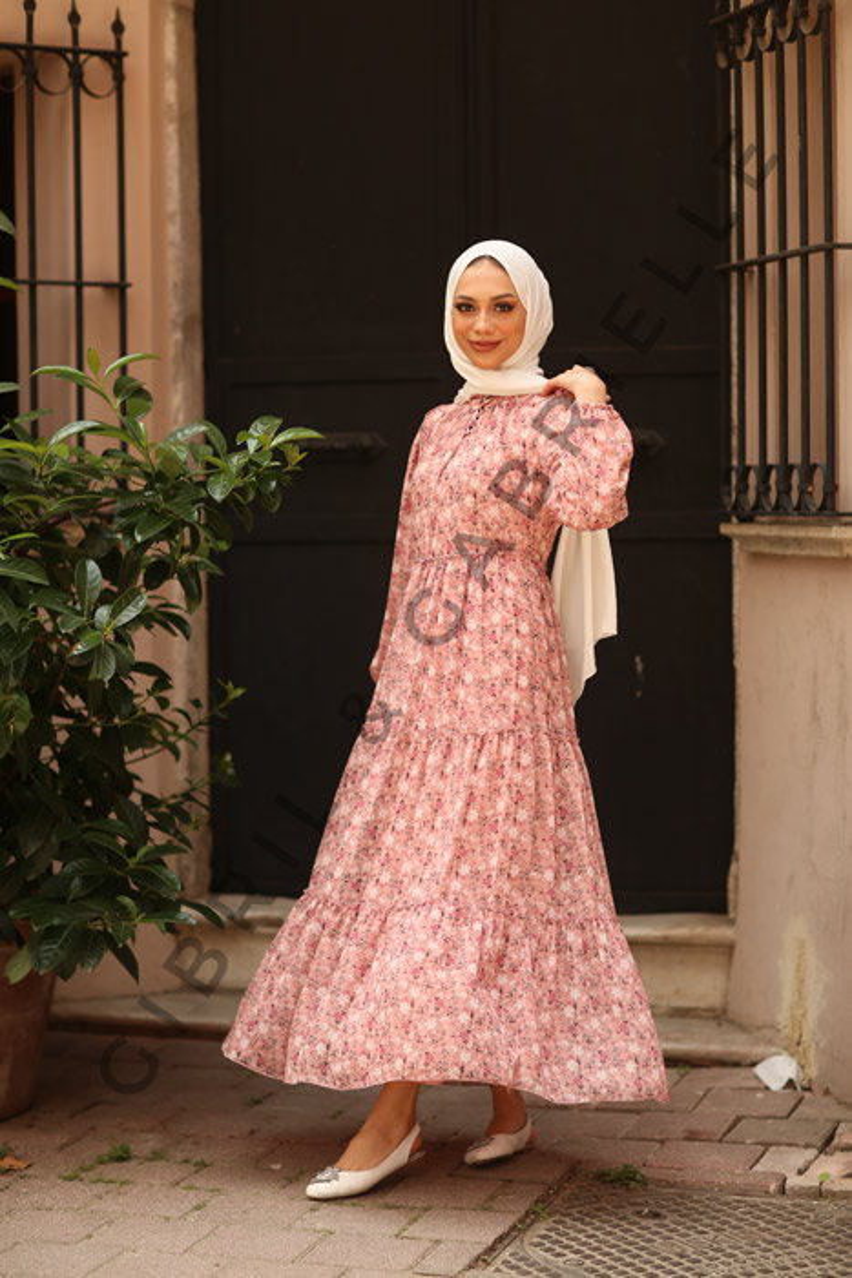 Pembe Rosa Elbise