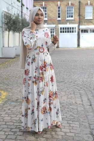 Gibril & Gabrielle - Petales Dress Ivory