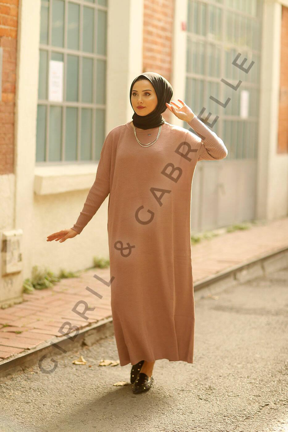 Pink Açelya Knit Dress