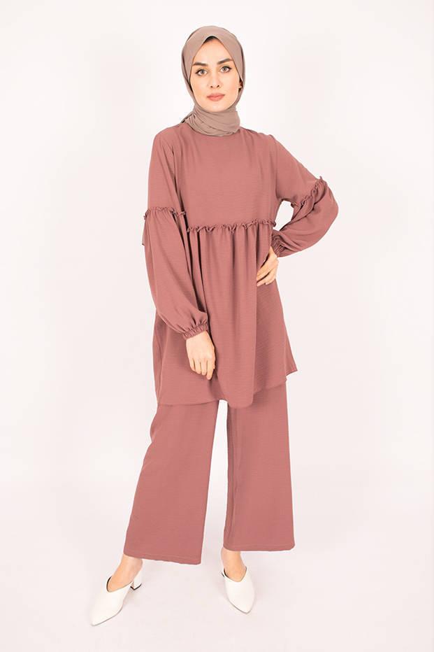 Gibril & Gabrielle - Pink Firdevs Suit