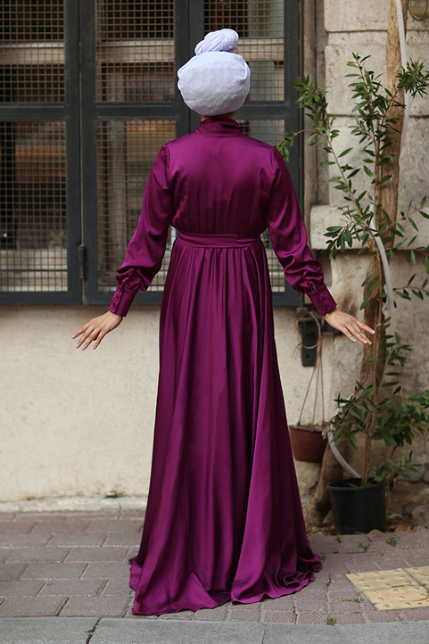 Plum Mennel Dress