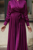 Plum Mennel Dress - Thumbnail