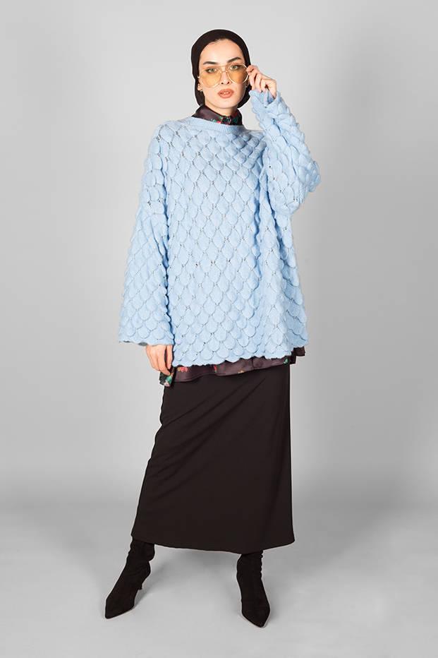 Pullover Deniz Blue