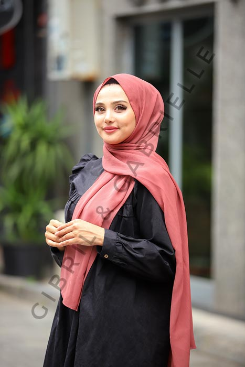 Krinkil Hijab - Purple