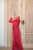 Red Mennel Dress - Thumbnail