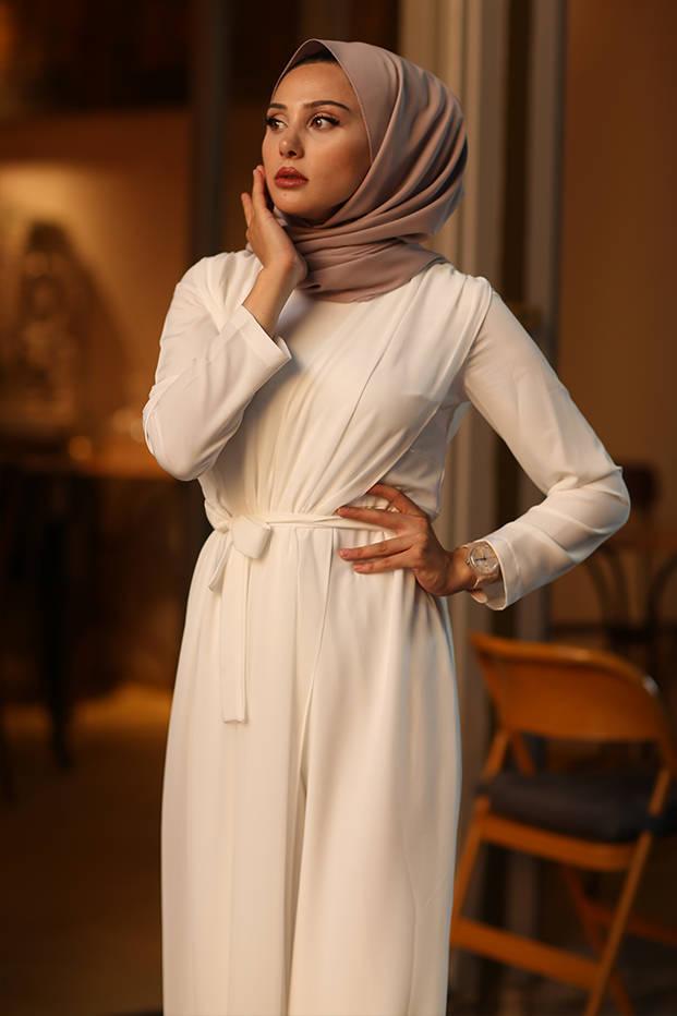 Salima Jumpsuit White