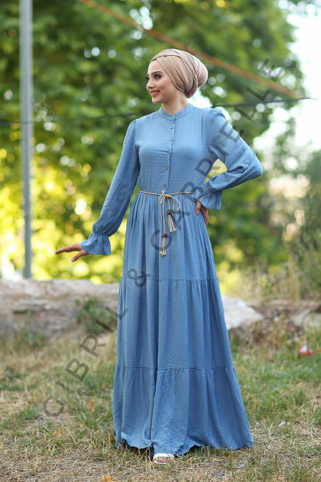 Gibril & Gabrielle - Blue Selma Dress