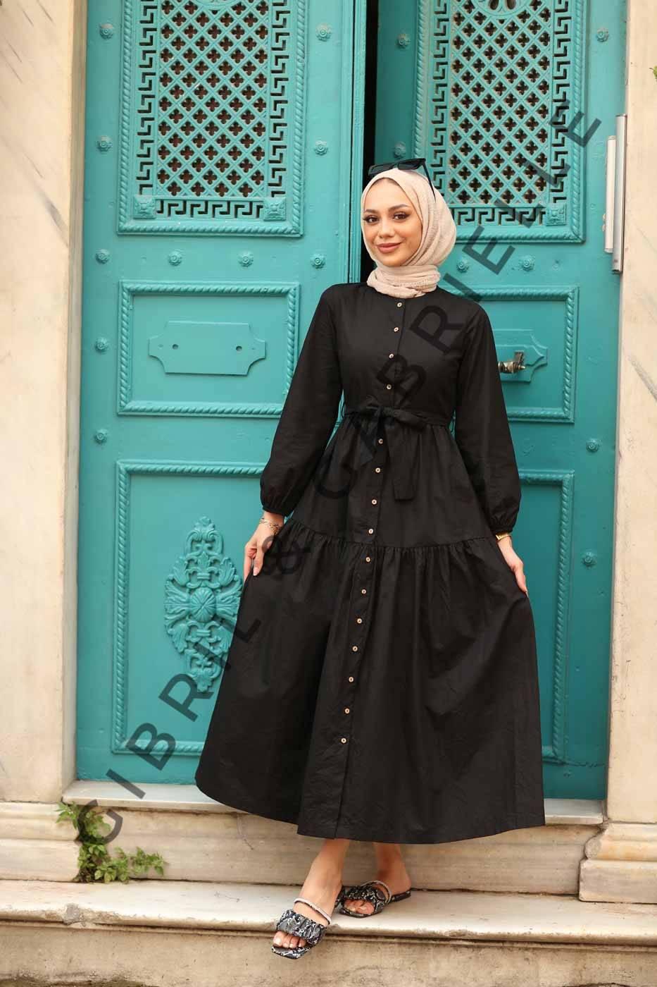 Gibril & Gabrielle - Siyah Nilay Elbise