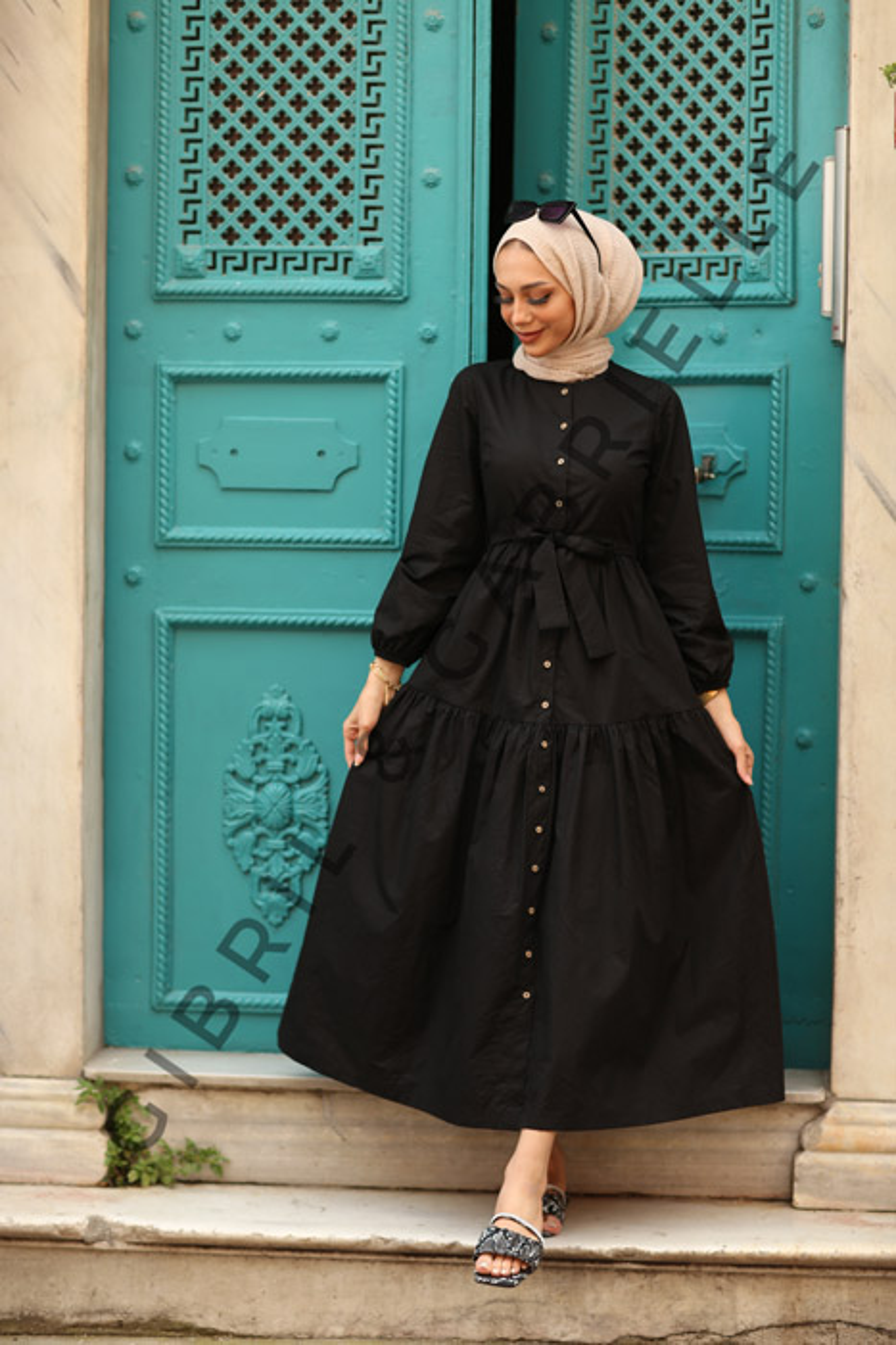 Siyah Nilay Elbise
