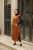 Sleeveless Knit Dress/Tunique Arya- Camel - Thumbnail