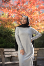 Soso Tunique/Dress - Grey - Thumbnail