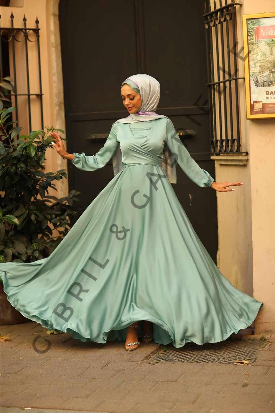 Gibril & Gabrielle - Su Yeşili Yasemin Elbise