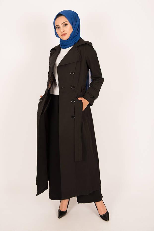 Trench Coat Black