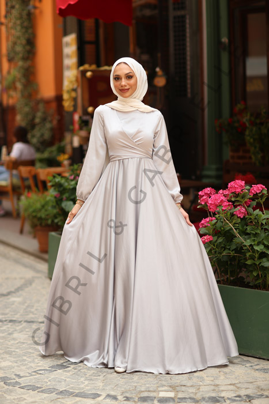 Gibril & Gabrielle - Yasemin Dress - Grey
