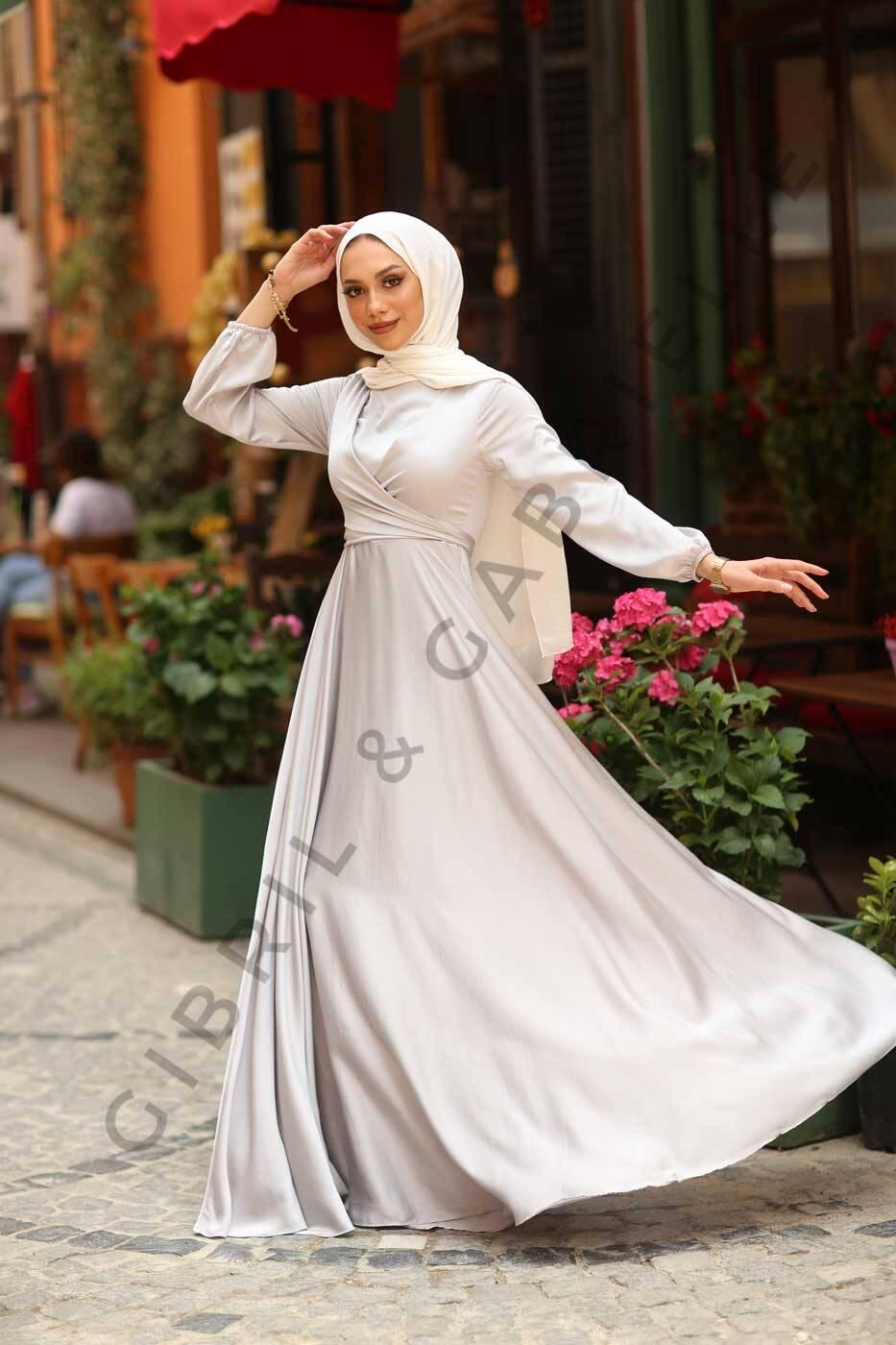 Yasemin Dress - Grey
