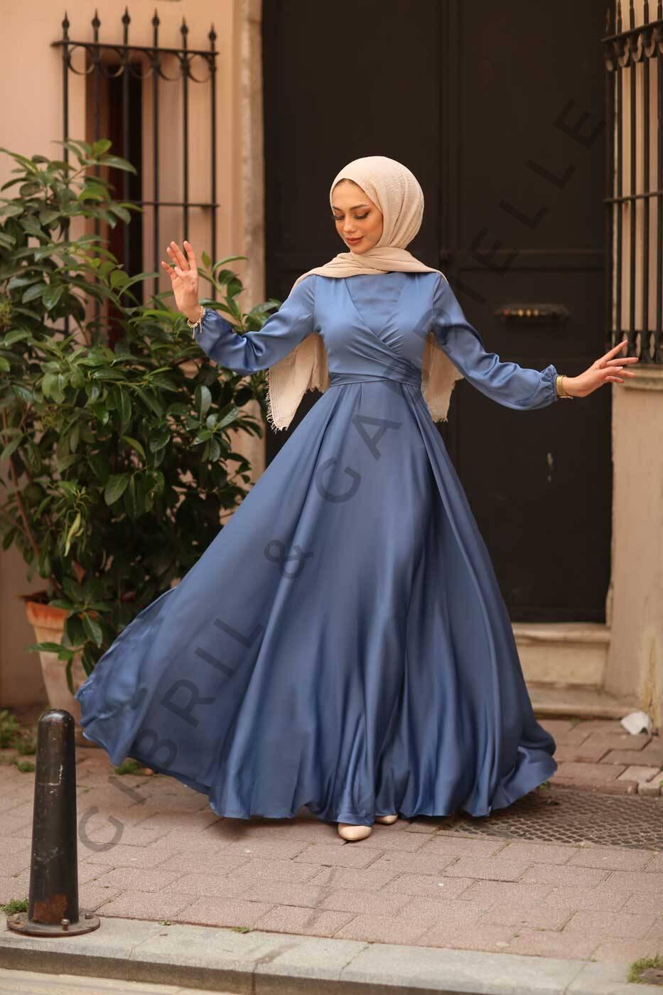 Gibril & Gabrielle - Yasemin Dress - Indigo