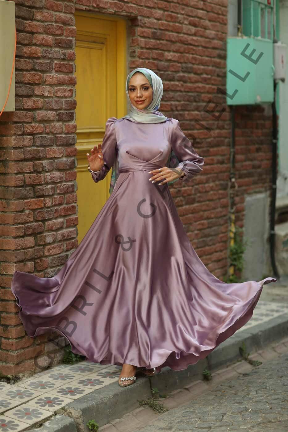 Gibril & Gabrielle - Yasemin Dress - Lilas