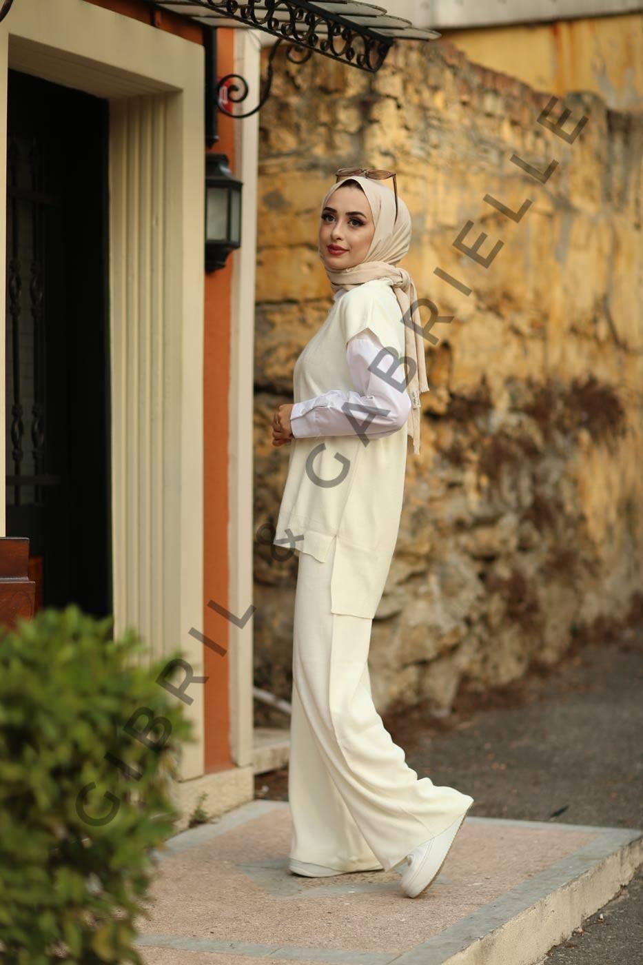 Gibril & Gabrielle - Zerrin Suit - Ivory