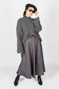 Zoé Skirt Grey - Thumbnail